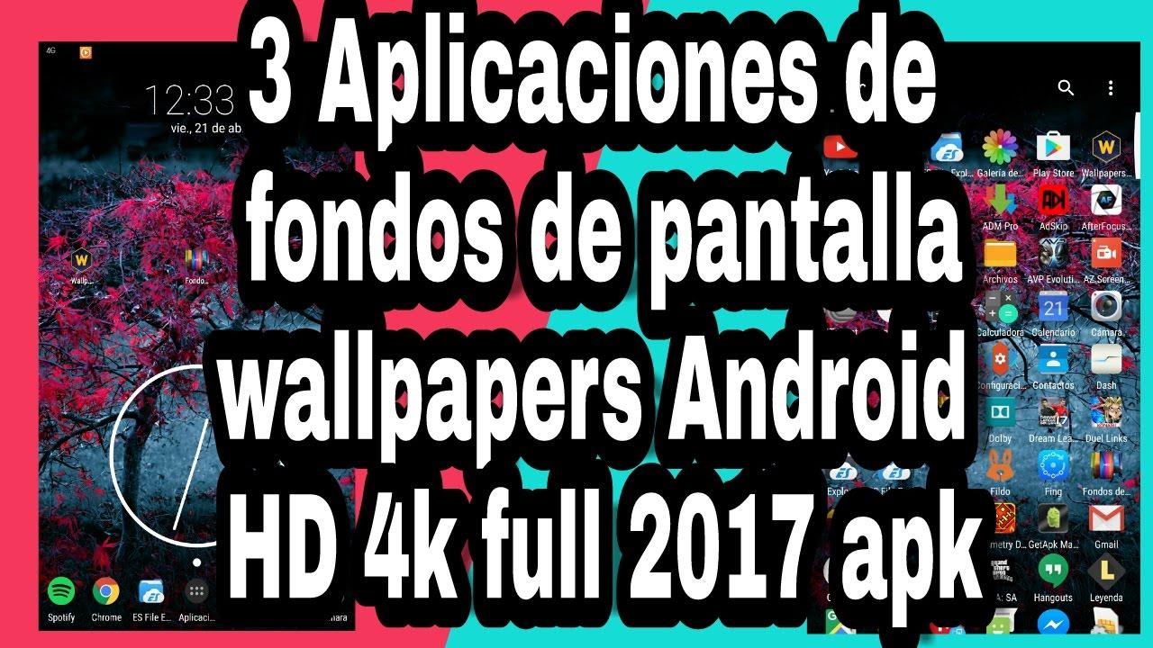 Las 8 mejores apps de fondos de pantalla android de 2017 - 3 Aplicaciones Para Fondos De Pantalla Los Mejores Wallpapers Hd 4k Full Pro 2017