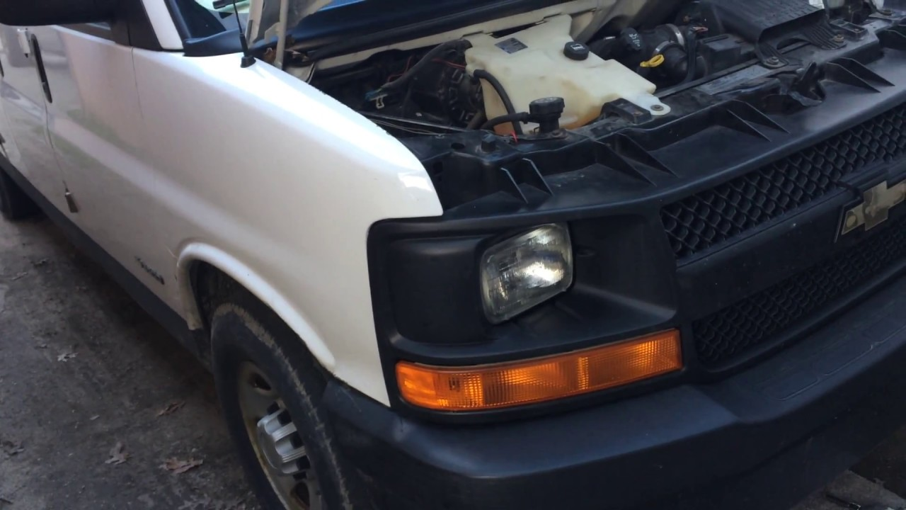 small resolution of 05 chevy van express 2500 3500 dies quits bad ground