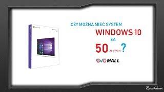 Gdzie kupić system Windows 10 Pro OEM z legalnego źródła za ok. 50 złotych? Strona GVG Mall