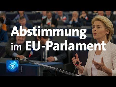 Abstimmung: Ursula von der Leyen neue EU-Kommissionspräsidentin gewählt