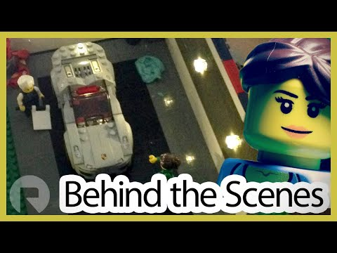 "Lighting LEGO Brickfilms with LEDs! (Behind the Scenes of ""Race of a Legend"")"