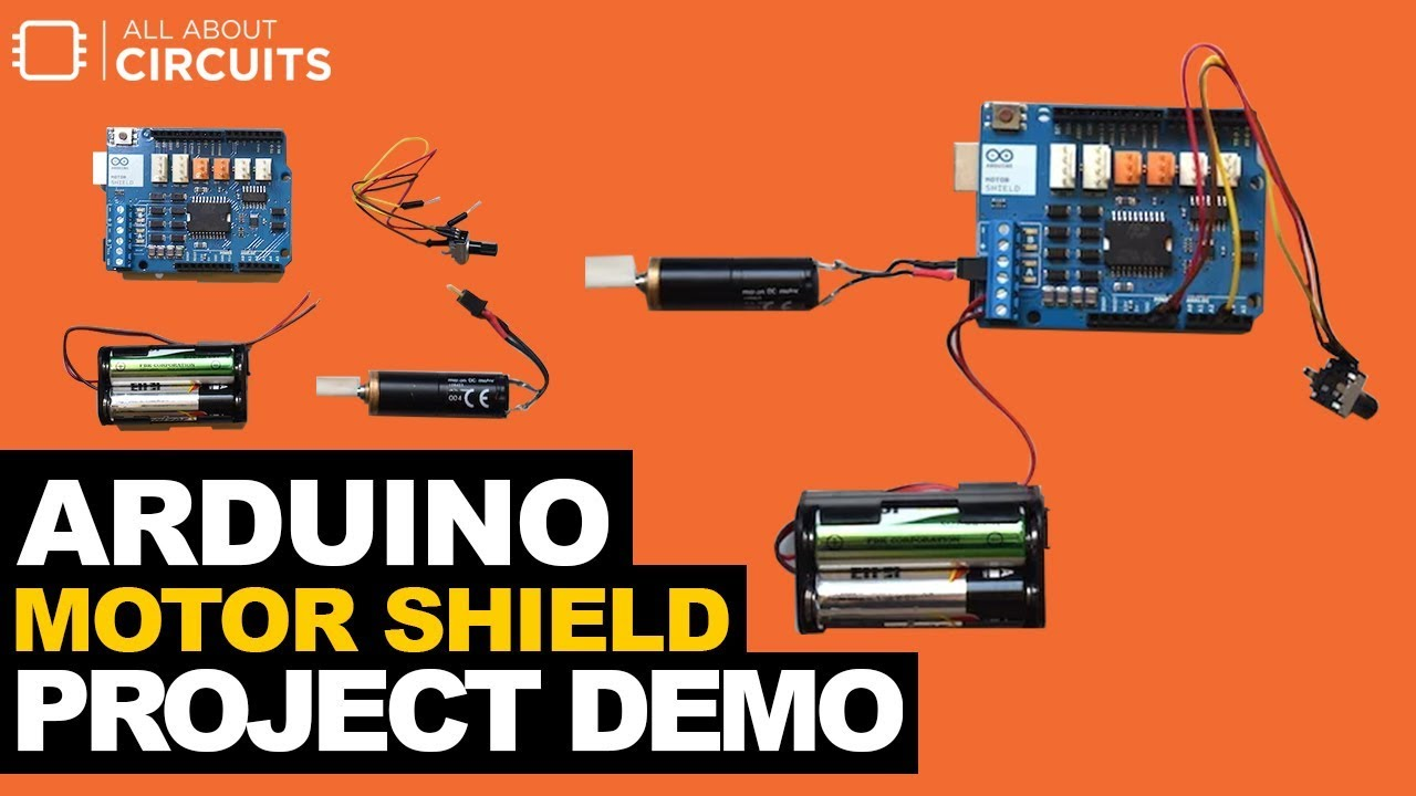 Arduino Motor Shield Tutorial