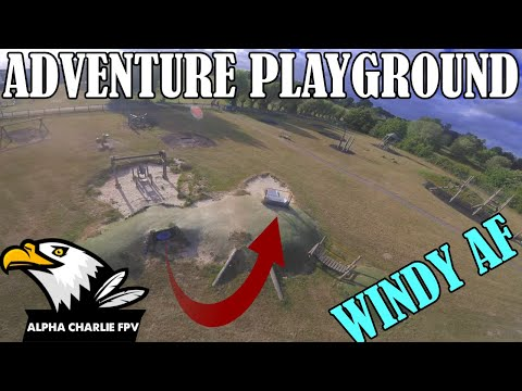 Фото Adventure Playground - FPV Freestyle IN 40 MPH WINDS!!
