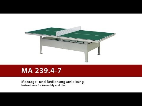 "Video: Sport-Thieme® ""Outdoor"" Table Tennis Table"