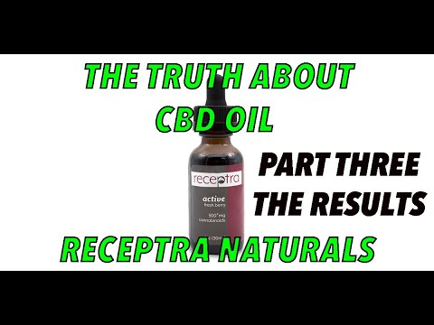 RECEPTRA NATURALS TEST RESULTS CBD REVIEW CHANNEL