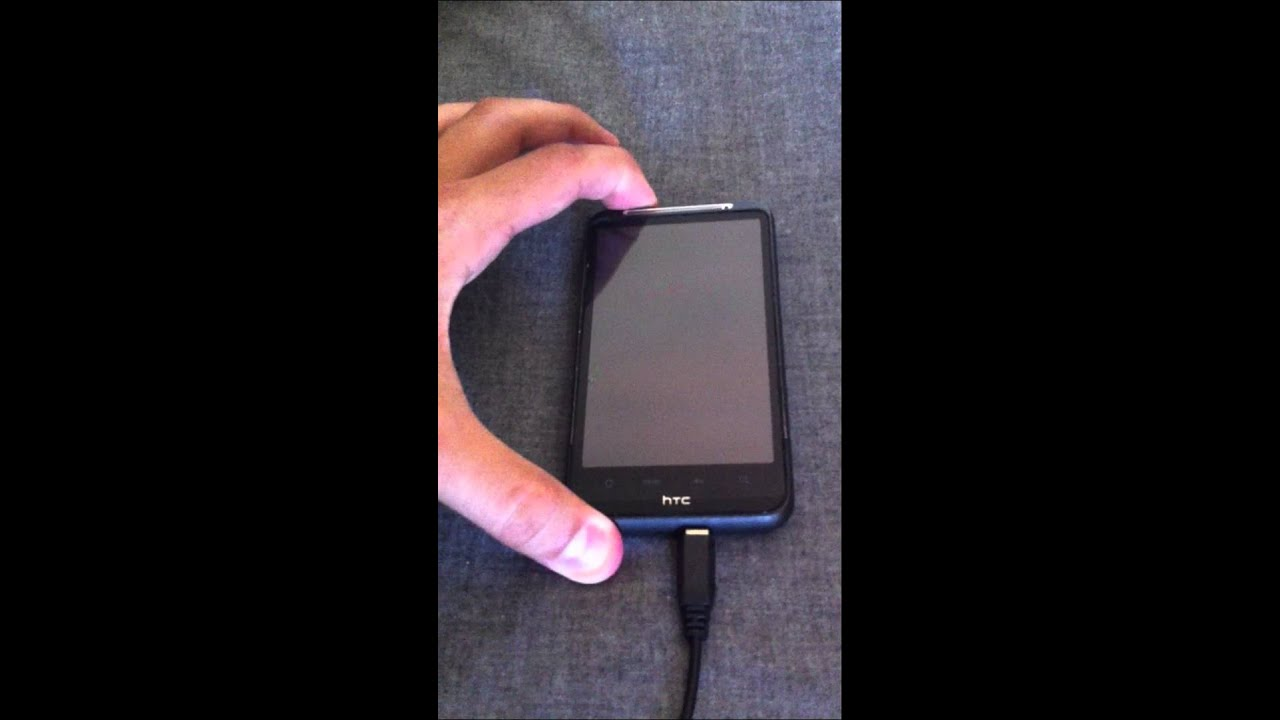 HTC Desire HD - red light Blinking