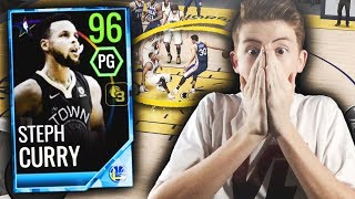 97 STEPH CURRY *THREE* ANKLE BREAKERS IN ONE VIDEO! INSANE NBA LIVE MOBILE GAMEPLAY!