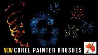 New Corel Painter Brushes - June 2019
