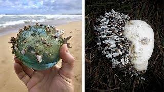 60 шокирующих находок на пляже
