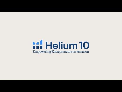 Helium 10 - Empowering Entrepreneurs On Amazon