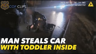 Cleveland Police Track Down Stolen Car With Toddler Inside