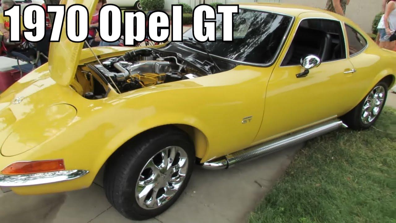 1970 Opel GT - YouTube