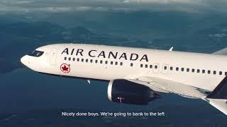Air Canada: 737 Air-to-Air