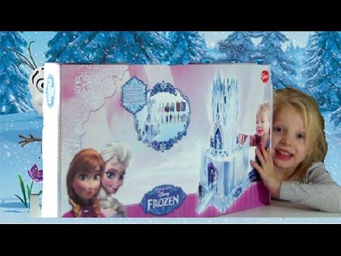 jouet la reine des neiges le chateau palais de glace frozen castle