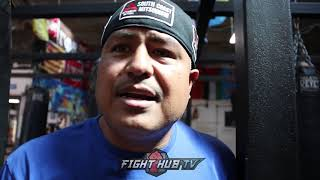 "ROBERT GARCIA ""I WOULD LOVE MIKEY TO FIGHT PACQUIAO"" TALKS FIGHT"