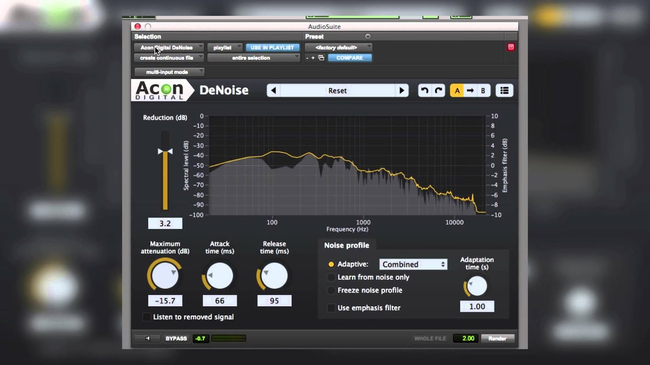 Restoration Suite | Noise Reduction Plug-ins