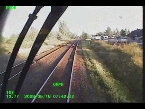 West Coast Express train accident