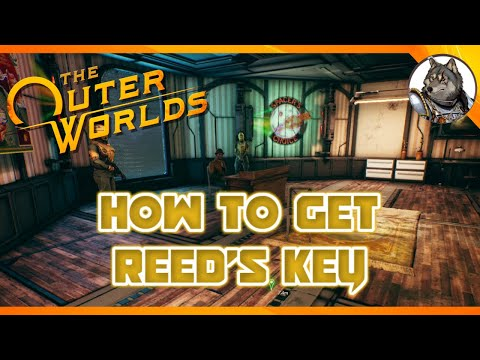 THE OUTER WORLDS - How To Get Reed's Key & Unlock His Office In The Edgewater Cannery Tower