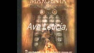 Margenta - Ave Leticia! (Letras Ruso - Español)