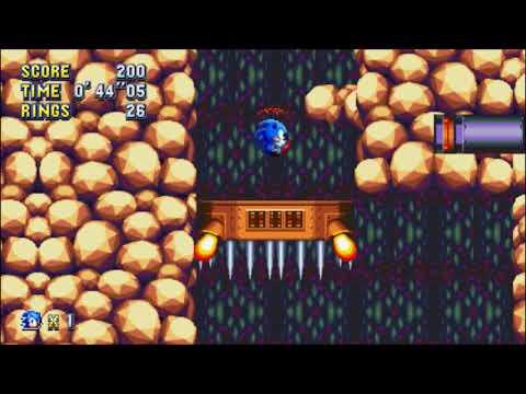 Sonic Mania (PC) - Lava Reef 1 Sonic: 1