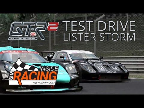 GTR 2 Test Drive - 2004 Championship Round 1 at Monza in Lister Storm