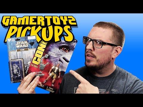 GamerToyz Pickups | Star Wars Droids & Kenner's Congo Toy Haul!