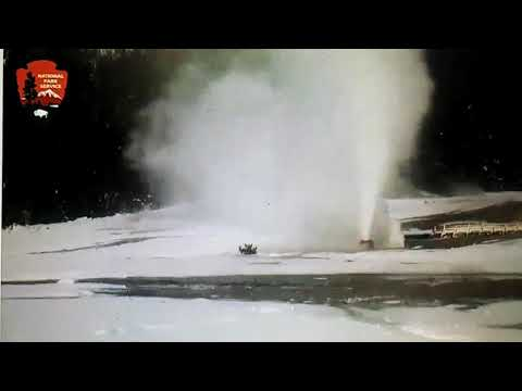 Beehive Geyser at Yellowstone Breathes 09 February 19