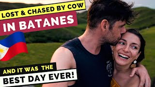 LOST & CHASED by cow in BATANES - BEST DAY EVER in the Philippines!!!