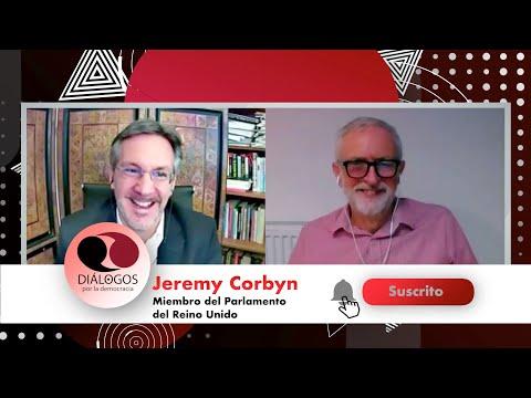 Diálogos por la democracia con John M. Ackerman y Jeremy Corbyn - YouTube