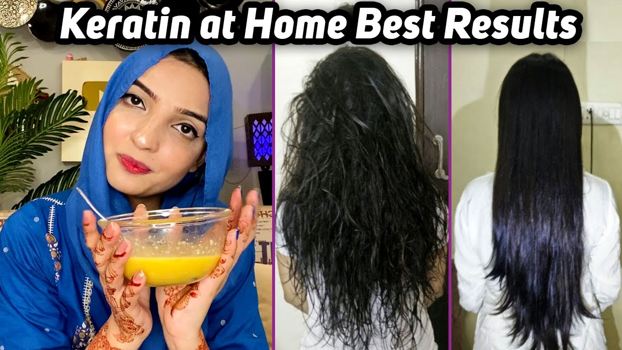 Easy Hair Botox Treatment at Home Best Results