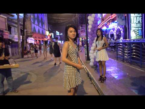 A short walk to Dollhouse Bar Angeles City Philippines