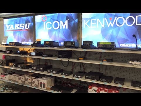 GigaParts Store Tour, Ham Radio + Computers, They Have It ALL!