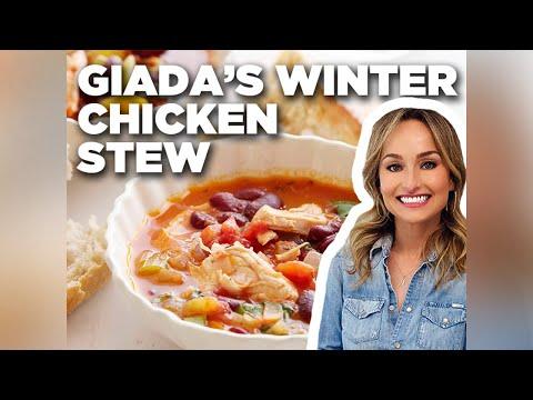 How To Make Giadas Winter Chicken Stew Food Network Youtube