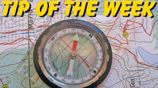 "Tip Of The Week - ""Resection"" - How To Determine Your Location With A Map And Compass (E9)"