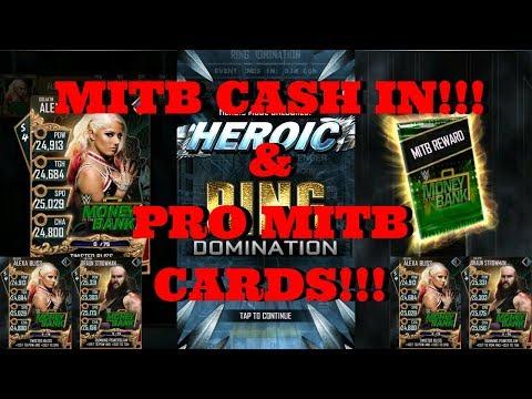 HUGE MITB CASH IN!!! & PRO'ING MITB CARDS!!  |  WWE Supercard #99 (Season 4)