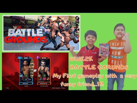 WWE 2K Battlegrounds - Gameplay.....One on One match | Gamezon |