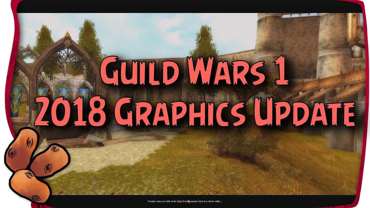 Guild Wars 1 - A New Graphics Update(!!) + 2018 Developer Questions &  Answers Summary