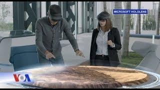 Kính HoloLens giúp trải nghiệm thực tế ảo nơi công sở (VOA)