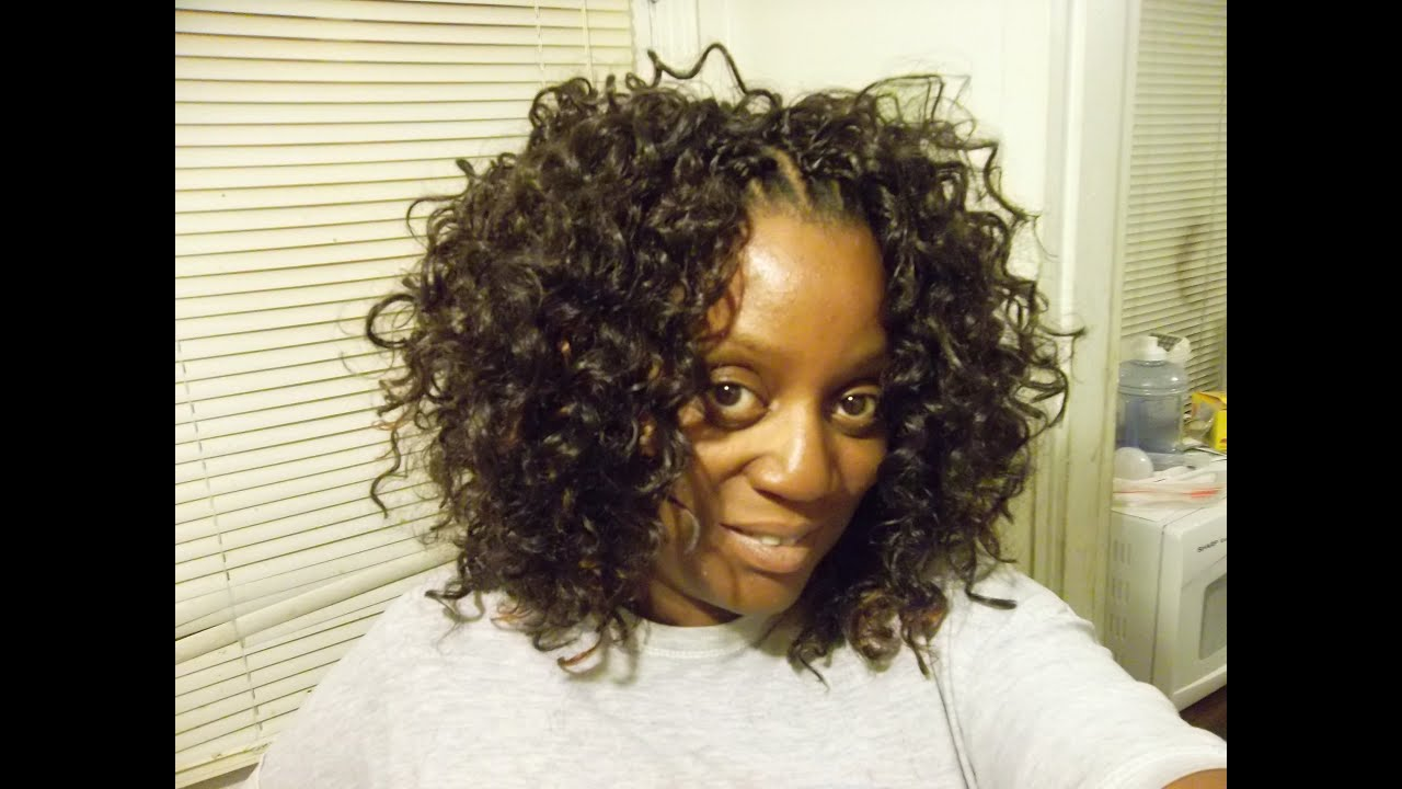 Protective Styles: Crochet Braids Free Tress GoGo Curl /Demo - YouTube