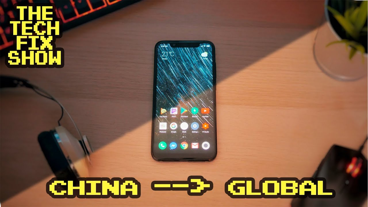 How to switch from China to Global MIUI 10 on any Xiaomi Device - MIUI 10  Beta Xiaomi Mi 8