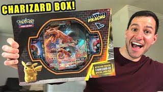 *NEW POKEMON CARDS DETECTIVE PIKACHU!* Opening CHARIZARD GX CASE FILE From GAMESTOP!