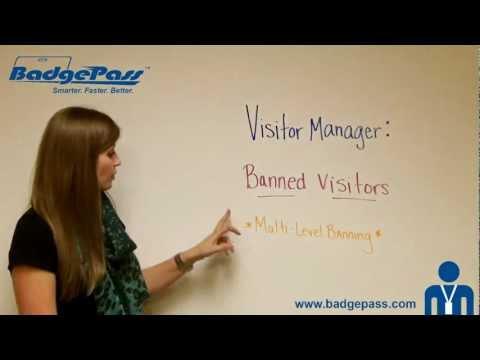 BadgePass Visitor Management   Visitor ID   Visitor Registration