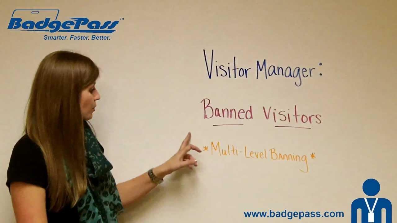 BadgePass Visitor Management | Visitor ID | Visitor Registration