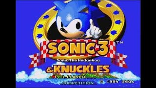 Sonic Challenge Longplay - Sonic 3 & Knuckles: Pacifist Run