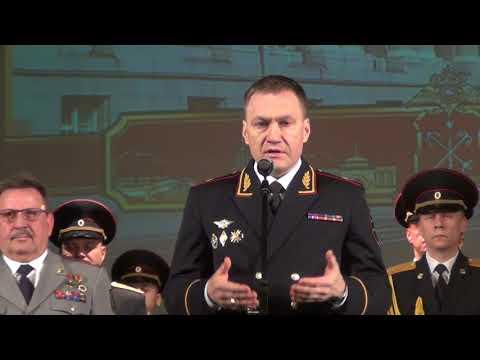 Поздравление ветеранов МВД, в Санкт - Петербурге