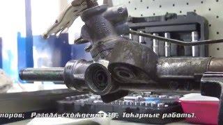 видео Замена рулевой рейки Ниссан
