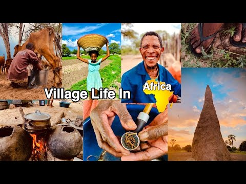 VILLAGE LIFE IN AFRICA,NAMIBIA|AFRICAN CULTURE🧘🏾♂️|OVAMBOLAND|LIFESTYLE