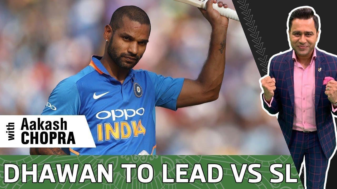 DHAWAN named INDIA CAPTAIN vs Sri Lanka | 20- Member IND SQUAD Announced | Betway Cricket Aakash