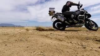 BMW R1200GS Adventure turning techniques