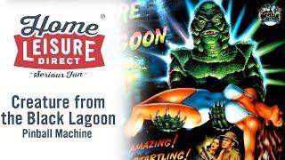 Creature from the Black Lagoon Pinball Machine (Bally 1992)